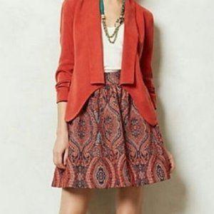Moulinette Soeurs Karachi A-Line Jacquard Skirt